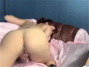 voluptuous Jayden Cole loves teasing her appetizing humid nub
