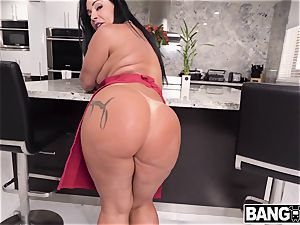 Monica Santhiago Her phat rump decently satiated