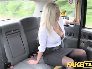 fake taxi red-hot estate agent gets creampied