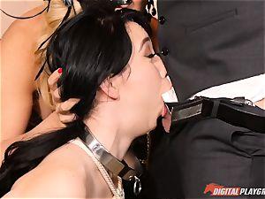 cum swallowing cult Cherie Deville, Eva Lovia and Bianca Breeze