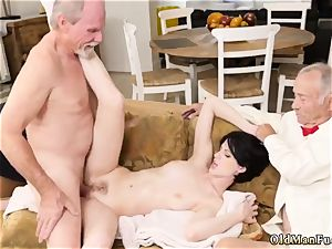senior cuckold bisexous hardcore She a red-hot petite lady that we get to see the guys have