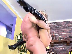 Fhuta Savannah loves strenuous ass-fuck