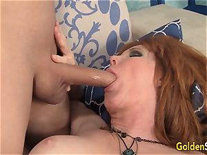 Mature sandy-haired Freya Fantasia Is porked