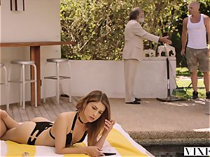 VIXEN.com Bad daughter-in-law loves hookup too much