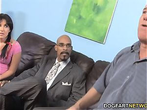 daddy Has To observe Her daughter-in-law Chelsie Rae boinks A big black cock
