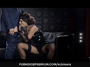 xCHIMERA - Amirah Adara creampied in fetish hook-up episode